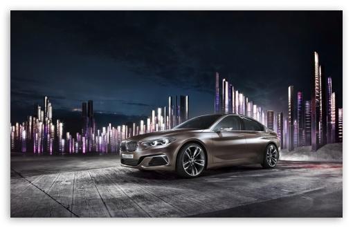 Download BMW Concept Compact Sedan UltraHD Wallpaper