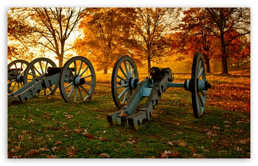 Download Cannons Old Artillery UltraHD Wallpaper