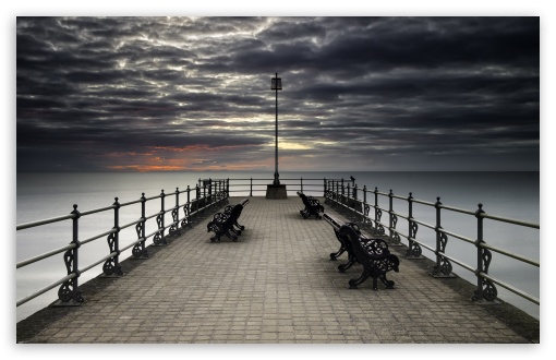 Download Swanage Pier Photography UltraHD Wallpaper