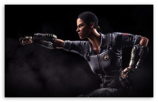 Download Mortal Kombat X Jacqui Briggs UltraHD Wallpaper