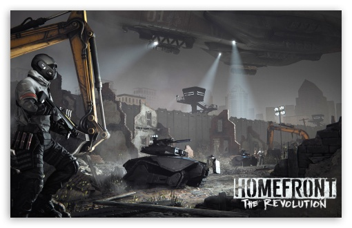 Download Homefront The Revolution UltraHD Wallpaper