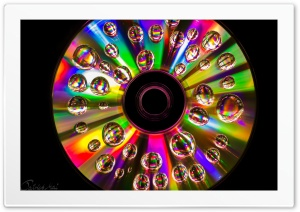 CD Rainbow Colors