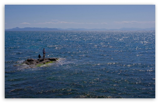 Download Greek Fishing UltraHD Wallpaper
