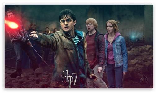 Download Harry Potter - Battle of Hogwarts - Harrys Side UltraHD Wallpaper