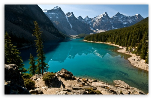 Download Beautiful Lake View UltraHD Wallpaper