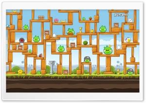 Angry Birds Hard Level