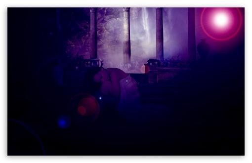 Download Lonely Girl UltraHD Wallpaper