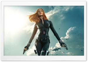 Black Widow in Captain...