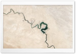 Lake Qadisiyah Iraq Earth...