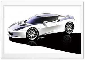 Lotus Evora Sketch 1