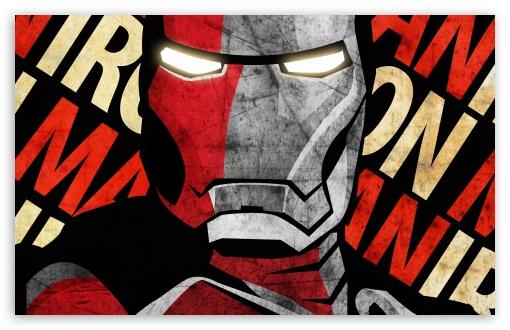 Download Shepard Fairey Iron Man Poster by... UltraHD Wallpaper