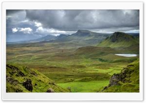 Scotland Mountains Meadows