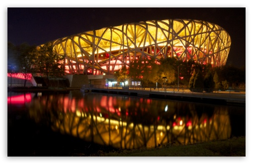 Download Beijing Birds Nest Stadium 4 UltraHD Wallpaper
