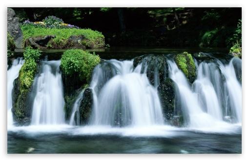 Download Waterfall, Japan UltraHD Wallpaper