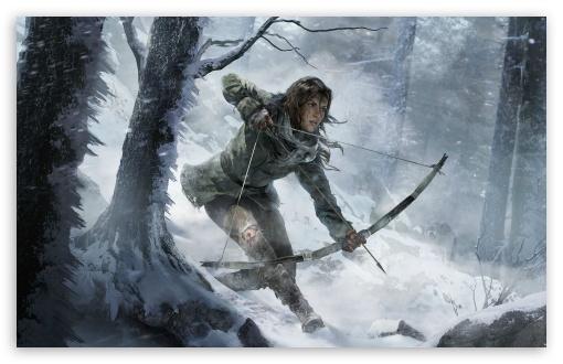 Download Rise of the Tomb Raider artwork UltraHD Wallpaper