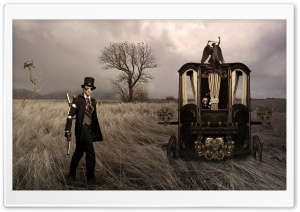 Bonny and Clyde steampunk