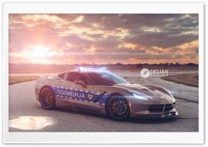 Corvette C7 Stingray Police