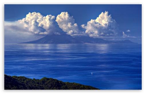 Download Ocean Blue UltraHD Wallpaper