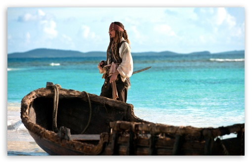 Download Jack Sparrow   Pirates Of The Caribbean On... UltraHD Wallpaper