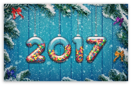 Download 2017 Happy New Year Background UltraHD Wallpaper