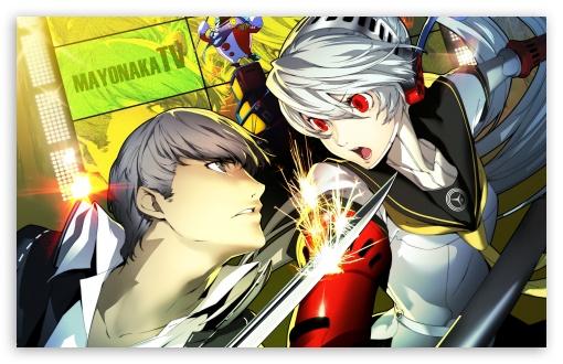 Download Persona 4 Arena P4A UltraHD Wallpaper