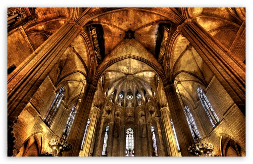 Download Barcelona Cathedral UltraHD Wallpaper