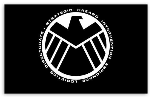Download Marvel - The Avengers Shield Logo UltraHD Wallpaper