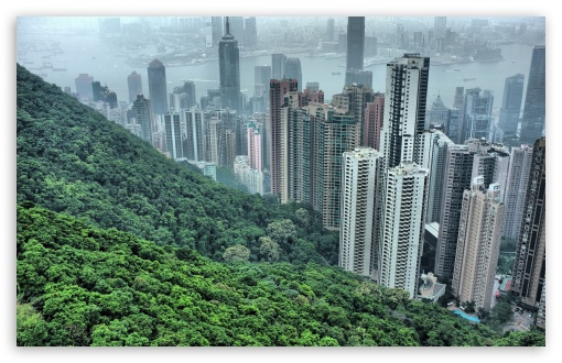 Download Hong Kong Hills UltraHD Wallpaper