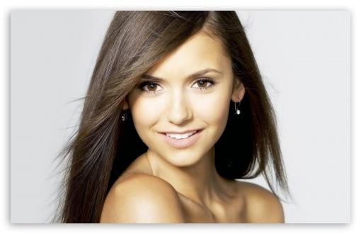 Download Nina Dobrev Portrait UltraHD Wallpaper