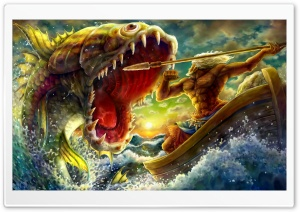 Dragons Crown Concept Art