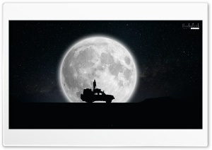Space with Car