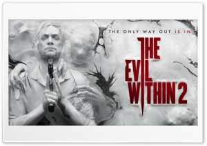 The Evil Within 2 video game...