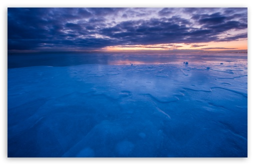 Download Cold Chicago Morning UltraHD Wallpaper