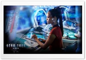 Zoe Saldana In Star Trek