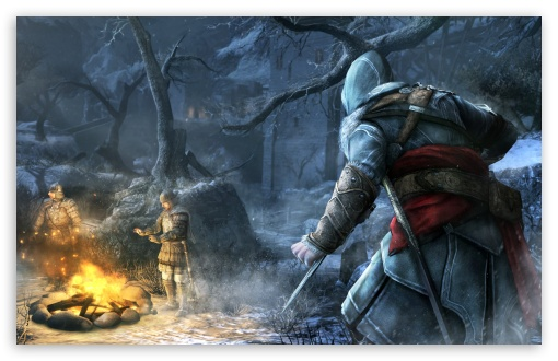 Download Assassin's Creed Revelations Fire UltraHD Wallpaper