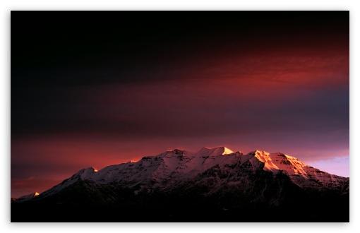 Download Sunrise - Mount Timpanogos UltraHD Wallpaper
