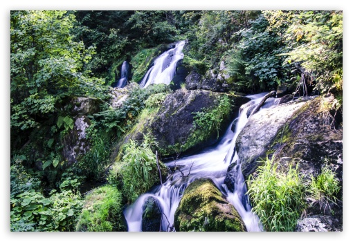 Download Triberg Waterfalls UltraHD Wallpaper