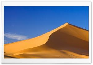 Sand Dunes Jabal Akakus Libya