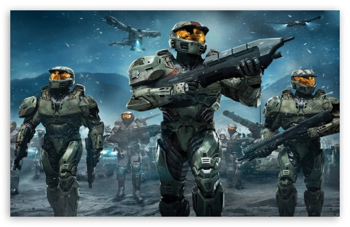Download Halo Troopers PS3 UltraHD Wallpaper