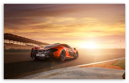Download 2014 McLaren P1 RaceTrack UltraHD Wallpaper