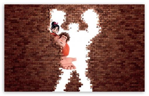 Download Wreck It Ralph Animation Movie UltraHD Wallpaper