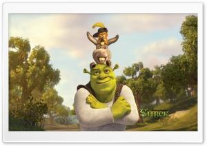 Shrek, Puss And Donkey