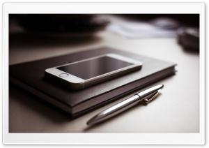 Pen, Agenda, Smartphone