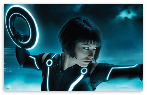 Download Tron Legacy, Olivia Wilde As Quorra UltraHD Wallpaper
