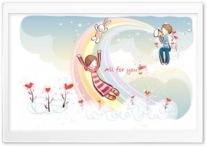 Love Rainbow Valentine's...