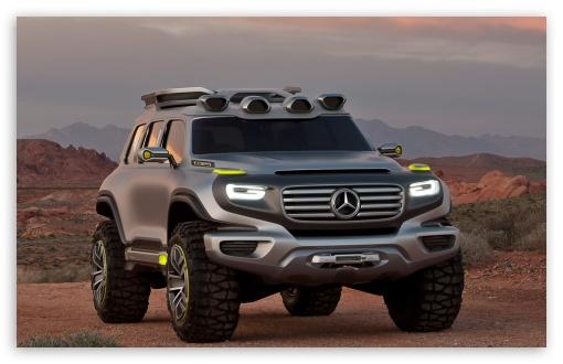 Download Mercedes-Benz Ener-G-Force UltraHD Wallpaper