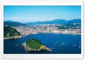View of San Sebastián, Spain