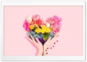 Heart Flowers Bouquet