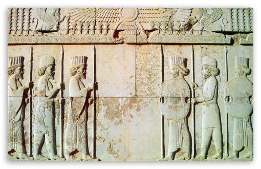 Download Persepolis-The Persian Soldiers UltraHD Wallpaper