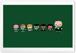 Chibi Green Lantern Corps